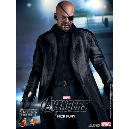 Hot Toys The Avengers Nick Fury 1/6 Scale Figure