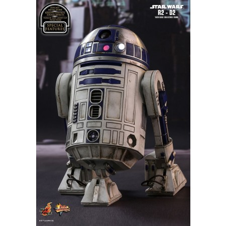 Hot Toys Star Wars The Force Awakens R2-D2 1/6 Scale Figure