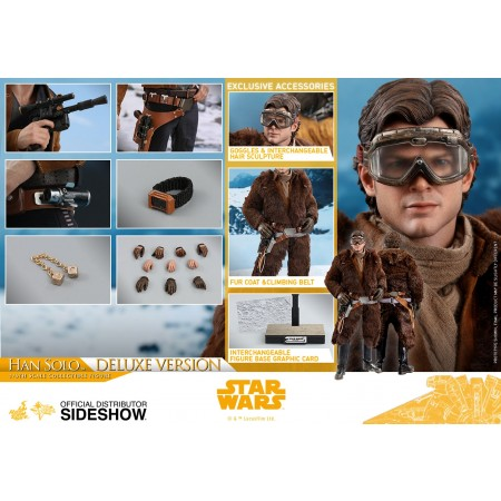 Hot Toys Star Wars A Solo Story Han Solo 1/6th Deluxe Scale Figure