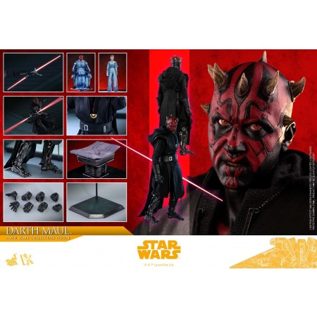 Hot Toys Star Wars A Solo Story Darth Maul 1/6th Scale Figure