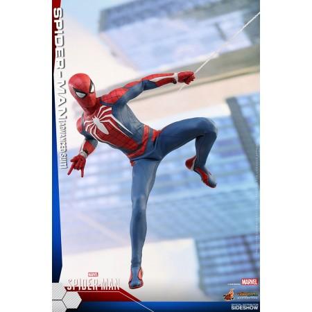 Juguetes calientes Spider-Man avanzado traje VGM escala 1/6 figura de acción