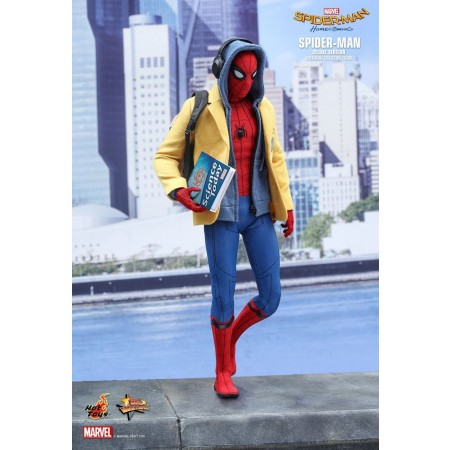 Hot Toys Spider-Man Homecoming Deluxe Version 1/6th Scale Action Figure