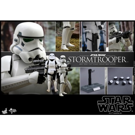 Hot Toys Star Wars ROTJ Stormtrooper 1/6 Scale Figure
