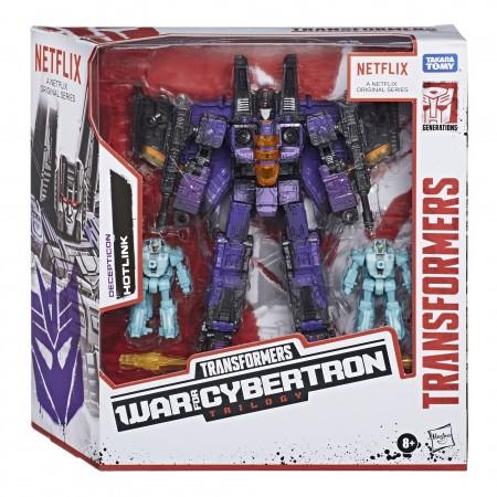 Transformers War For Cybertron Battlefield Hotlink 3 Pack Netflix Exclusive