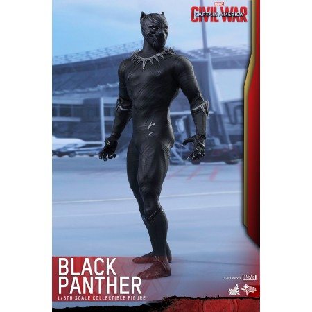 Hot Toys Civil War Black Panther 1/6 Scale Figure