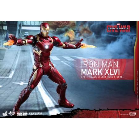 Hot Toys Civil War Iron Man Mark XLVI 1/6 Scale Figure