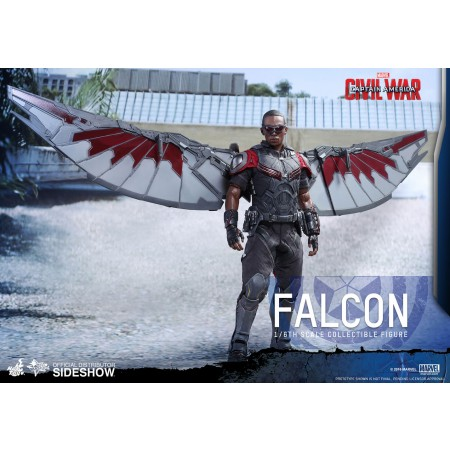 Hot Toys Civil War Falcon 1/6 Scale Figure