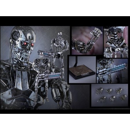 Hot Toys Terminator Genisys Movie Masterpiece 1/6 Scale Endoskeleton MMS352