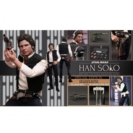 Hot Toys  Star Wars Episode IV: A New Hope - 1/6 Han Solo
