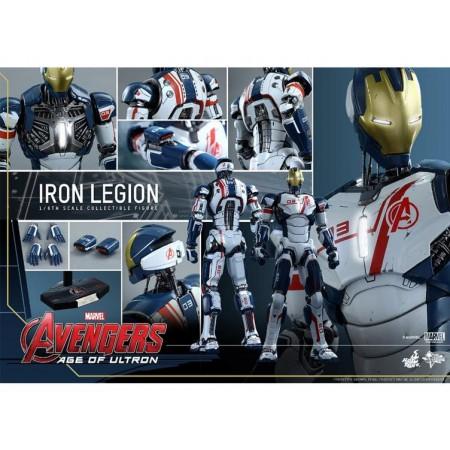 Hot Toys Age Of Ultron Iron Legion 1/6 Scale Figure