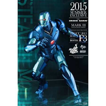 Hot Toys Toy Fair Exclusive Iron Man Stealth Mode 1/6th Scale Action Figure