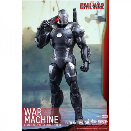 Hot Toys Captain America Civil War War Machine Mark 3 1/6th Scale Action Figure