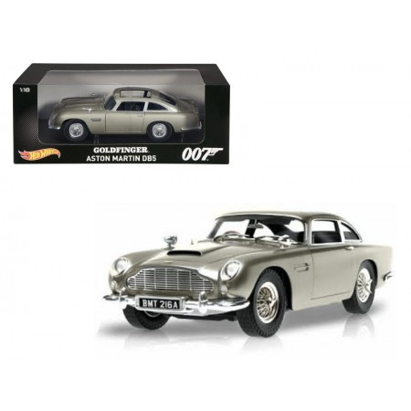 Hot Wheels James Bond Goldfinger Aston Martin DB5 modelo de escala 1:18