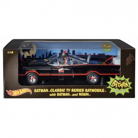 Hot Wheels 1:18 escala 1966 Batmobile
