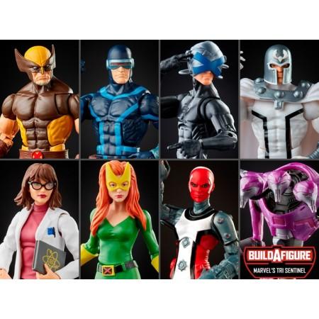 Marvel Legends House of X Powers of X Tri Sentinel BAF Wave Set of 7