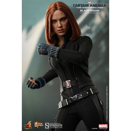 Hot Toys Captain America The Winter Soldier Black Widow 1/6th Scale Figure