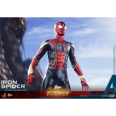Hot Toys Avengers infinito guerra hierro araña figura de acción escala 1/6