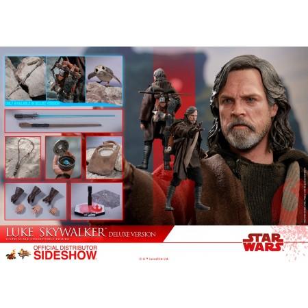Hot Toys Star Wars The Last Jedi Luke Skywalker Deluxe Edition 1/6th Scale Figure