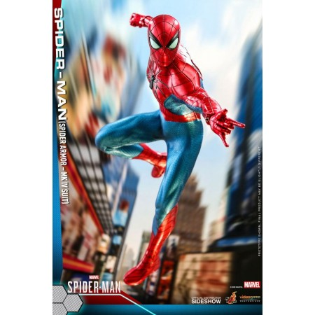 Hot Toys Spider-Man Spider Armor MK IV Suit 1/6 Scale Figure