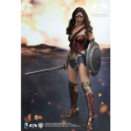 Hot Toys BvS Dawn of Justice Wonder Woman 1/6 Scale Figure