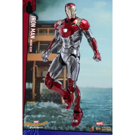 Hot Toys Spider-Man Homecoming Iron Man XLVII Armour 1/6th Scale Figure