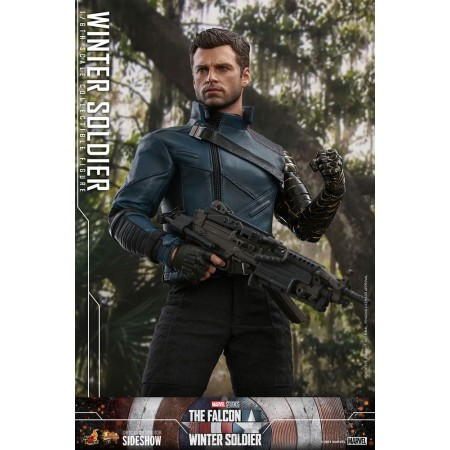 Hot Toys The Falcon and the Winter Soldier Bucky Barnes 1/6th Scale Figure