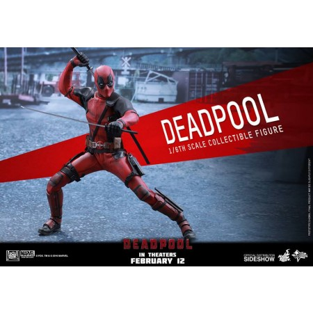 Hot Toys Deadpool 1/6th Scale Action Figure