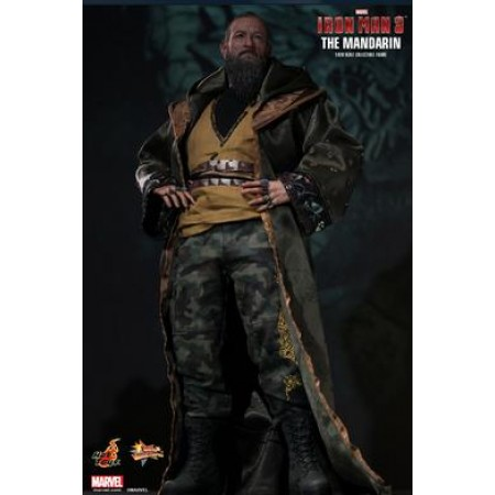 Hot Toys Iron Man 3 Mandarin Movie Masterpiece Figure