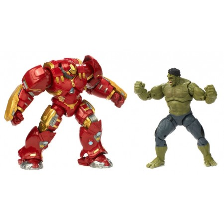 Marvel Legends Cinematic Universe Hulkbuster Vs Dark Hulk 2 Pack