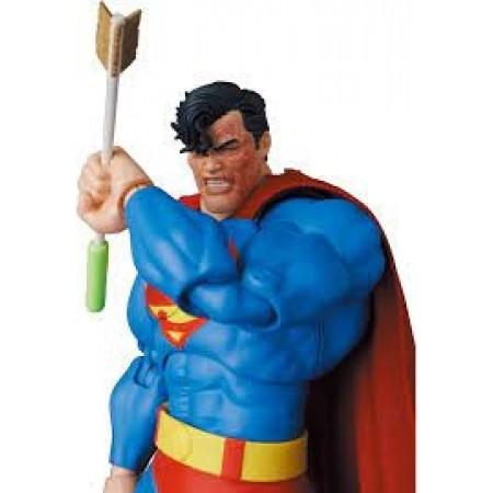 DC Mafex Batman The Dark Knight Returns Superman Action Figure No.161