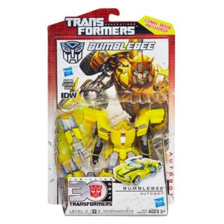 Transformers Generations Bumblebee & IDW Spotlight Comic