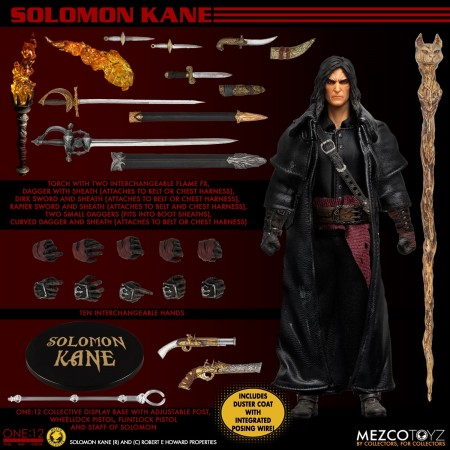 Mezco One:12 Collective Solomon Kane Action Figure