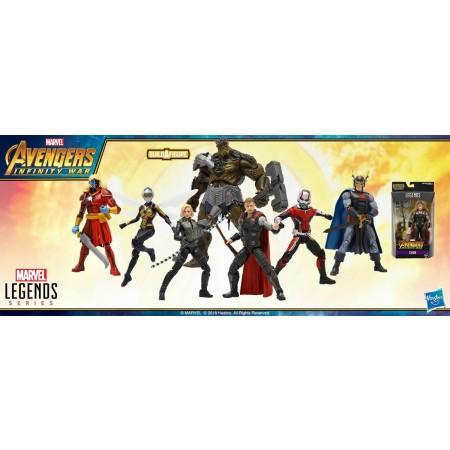 Marvel Legends Infinity War Wave 2 Set of 6 Obsidian BAF