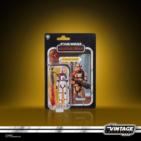 Star Wars The Vintage Collection Incinerator Trooper ( The Mandalorian ) 3.75 Inch Action Figure