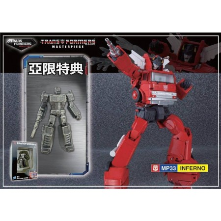 BRAND NEW Transformers MP-33 Masterpiece Inferno