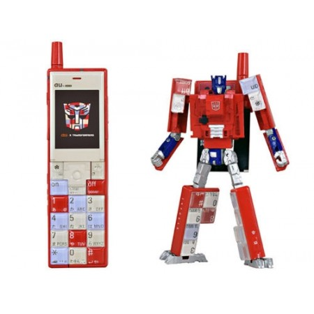 Transformers Info Bar Optimus Prime Exclusive