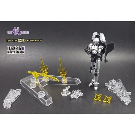 Iron Factory IF-EX16N - Night Assassin Convention Exclusive