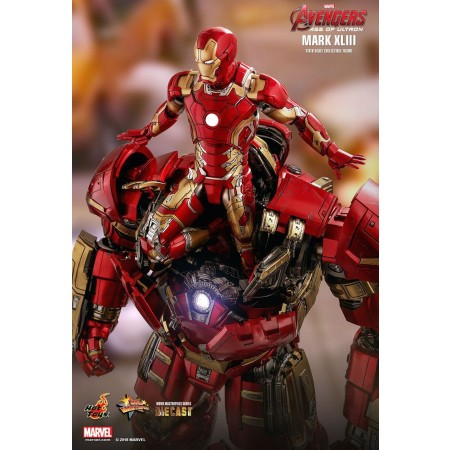 Hot Toys Avengers Age Of Ultron Iron Man Mark XLIII Diecast Reissue 1/6 Scale Figure