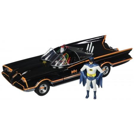 Jada 1:24 Batman 1966 Classic Batmobile & Figure