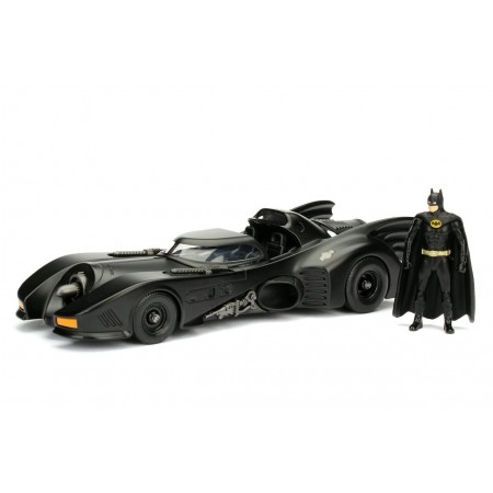 Jada 1:24 Batman 1989 Batmobile & Figure
