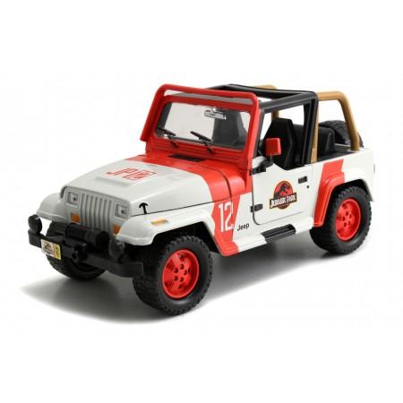 Jada 1:24 Jurassic Park Staff Jeep Wrangler