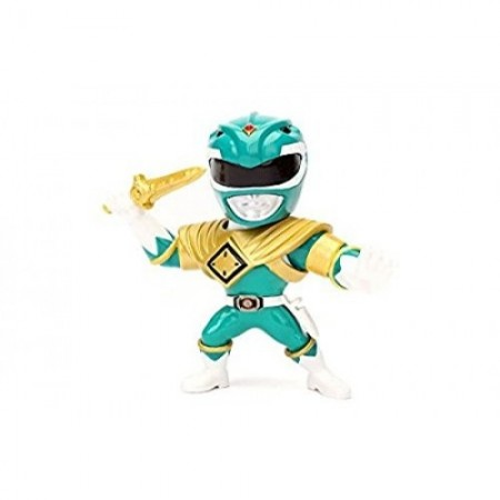 Mighty Morphin Power Rangers de los metales de Jada verde Ranger