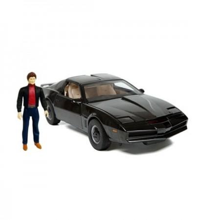Jada 1:24 Knight Rider K.I.T.T & Michael Knight Figure