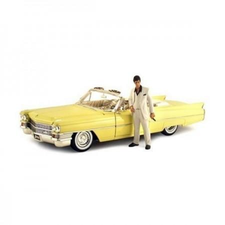 Jada 1:24 Scarface 1963 Cadillac & Tony Montana
