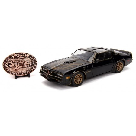 Jada 1:24 Smokey and the Bandit Firebird and Bandit Belt Buckle