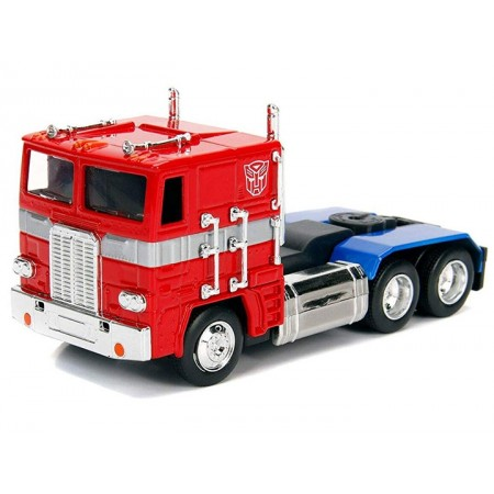 Jada Toys Metals Transformers G1 Optimus Prime 1:32 Scale Vehicle