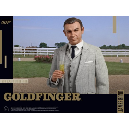 Goldfinger James Bond escala 1:6 figuras por gran jefe estudios