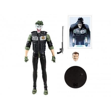 McFarlane DC Multiverse Joker ( Jack Napier ) Batman White Knight Action Figure