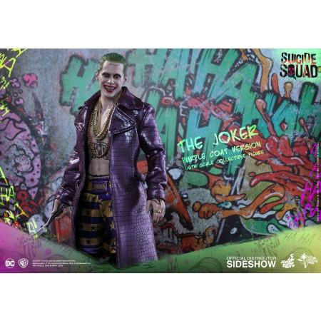 Hot Toys Suicide Squad Joker Purple Coat Version 1/6 Scale Figure MMS382