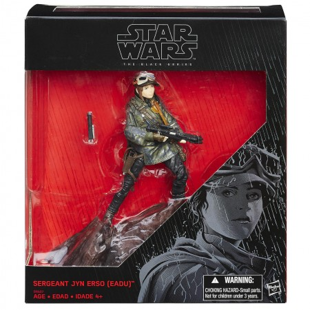 """Star Wars Rogue One Exclusive 6"""" Jyn Erso Eadu Base BOXES NOT MINT"""